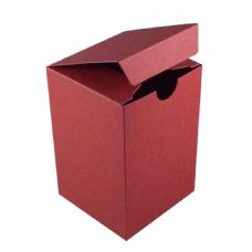Wine Red Tall Designer Favour Boxes